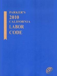 Cover of the California Labor Code