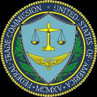 Seal of the Federal Trade Commission, which enforces the Consumer Review Fairness Act of 2016