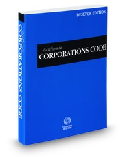 Photo of CA Corporations Code, which contains CA-RULLCA statutes